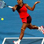 Fourth pic of Serena Williams at Australian Open 2010 courts in Melburn