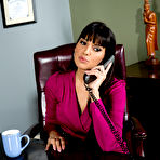 First pic of Mercedes Carrera Boss' Busty Wife Seduces Male Secretary