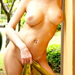 Second pic of She takes it off outdoors to show her super tight body - XBabe