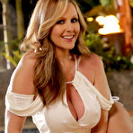 First pic of Julia Ann Lusty Cougar Bares Big Boobs at the Hot Tub