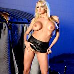 Third pic of This blonde chick Stormy Daniels has the beautiful legs and even hotter tits and pussy