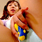 Second pic of Gorgeous girl Nagisa masturbates in detention | JapanHDV