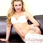 Second pic of Lexi Belle Strips to Panties and Knee-High Socks
