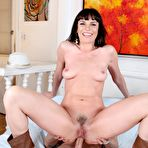 Fourth pic of Lecherous milf Dana DeArmond is fucking dick anally and ends it up with hot blowjob