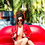 First pic of        Darcie Dolce unveils her exquisite curves by the pool