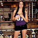 First pic of Gianna Michaels: Gianna Michaels sits up on... - BabesAndStars.com