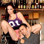 Second pic of Gianna Michaels: Gianna Michaels sits up on... - BabesAndStars.com