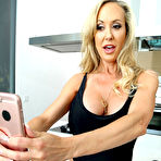 First pic of        Brandi Love and Cali Sparks taking selfies and licking pussies