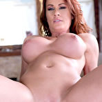 Fourth pic of Sabrina Cyns Busty Cougar Cooks Up Hardcore in the Kitchen