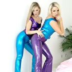 Third pic of Lesbian Latex Babes Playing - FilmLatex.com Latex Fetishes