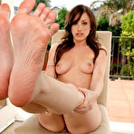 Second pic of Jennifer White Exposes Smooth Soles and Toes and Gets Fucked - Foot Fetish Daily: The #1 Foot Fetish Site on the Internet!