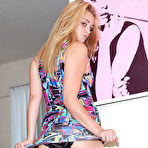 Third pic of Sexy blonde Alexis Celeice enjoys getting naughty by posing her lingerie during photo shooting - XBabe