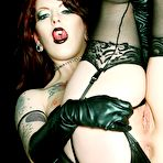 Second pic of PinkFineArt | Classic Redhead Goth from Gothic Babes