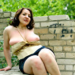 Third pic of Chubby and fun brunette Usha flashed her huge tits and spread her legs - Hot Erotic Pussy