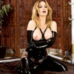 Third pic of Angela Sommers Busty Latex Goddess