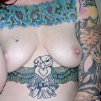 Fourth pic of Tattooed Metalhead Punk Babe Modeling Nude - Sully From TrueAmateurModels.com