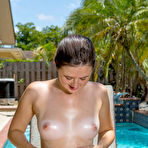 Second pic of Katie Rawls - Doing Some Tanning at HQ Babes