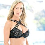 First pic of Brandi Love gets two big black dicks at the same time at PinkWorld Blog