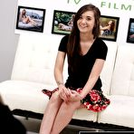 First pic of Brunette teen beauty fucked at the talent agency - Cheating Sluts