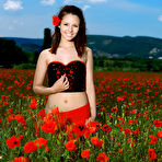 First pic of Alma in Smiling Poppies by MPL Studios | Erotic Beauties