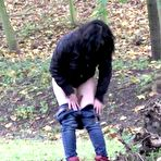 First pic of PinkFineArt | Shy Teen Pees Outside from Got2Pee