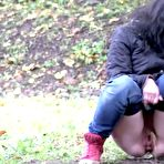 Third pic of PinkFineArt | Shy Teen Pees Outside from Got2Pee