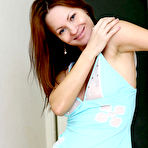 Third pic of FilthyNubiles.com's gallery :: sexy redhead teen rita wearing nighties posing sexy at the hallway