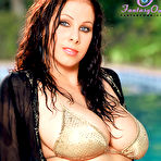 First pic of Busty Gianna Michaels gets herself wet at the Pool 1 of 2