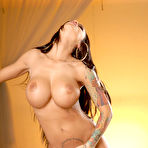 Third pic of Angelina Valentine Big Boobed Bad Girl Works her Fingers