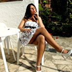 First pic of Smoking a cigarette as I'm being naughty in the sun -Milfs Seduction