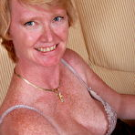 Fourth pic of Naughty British housewife getting wet and wild -Clothing Granny