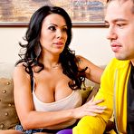 First pic of Sienna West Latina MILF Scores with Son's Rival