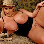 Third pic of PinkFineArt | Laura M Soldier Uniform from My Boobs