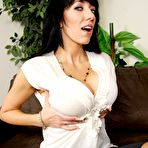 Second pic of Alia Janine: Horny library lady Alia Janine... - BabesAndStars.com