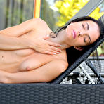 Third pic of Sapphira A in Open Air by Met-Art X | Erotic Beauties