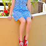 First pic of Lexi FTV Girls Blue Dress No Panties - Cherry Nudes