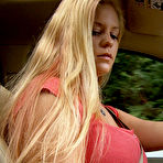 First pic of Anabelle Pync Driving Upskirt Candy Girl Nude / Hotty Stop