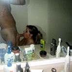 First pic of CumOnWives | User-submitted pics of real wives giving blowjobs and getting facials!