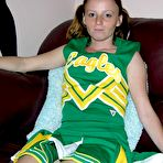 First pic of Nude Cheerleader Teen - True Amateur Models