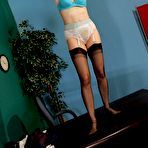 First pic of Mature secretary striptease - Moms Seduction