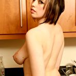 Fourth pic of Big Boobs Beth gets turned on by donuts - Coed Cherry