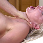 Third pic of SexPreviews - London River busty blonde in rope bondage with nipple clamps is anal fucked by maledom Seth Gamble