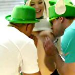 First pic of Party Sluts Pounded In An Orgy On St Patricks Day - 18TeenSex.tv