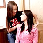 First pic of Lesbian teen friends Sonechka & Anne fucking each other with a toy
