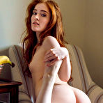 Third pic of Redhead erotic girl Jia Lissa showcasing her tight pink pussy at pussyxxxporn.com