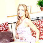 First pic of   Blonde Sarah Kay shows you her pleasure for toys | Baberotica