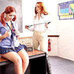 Second pic of Lesbian teacher Miss Carter seduces Harley Gacke