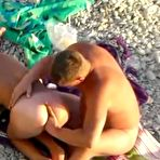 Fourth pic of Beach voyeur sex with swinger nudists having fun in foursome at AmateurPorn.me