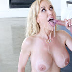 Fourth pic of Brandi Love Jizzed After Hard Sex