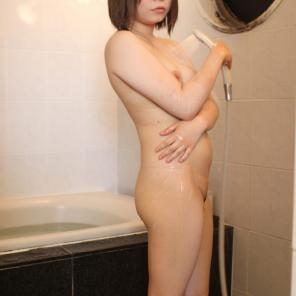 Chubby Japanese Taking a Shower #235440